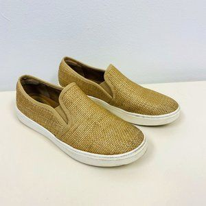 Sofft Somers Gold Metallic Slip-On Shoes 9.5